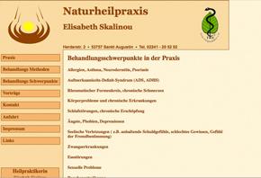 Heilpraktikerin  Frau Elisabeth Skalinou